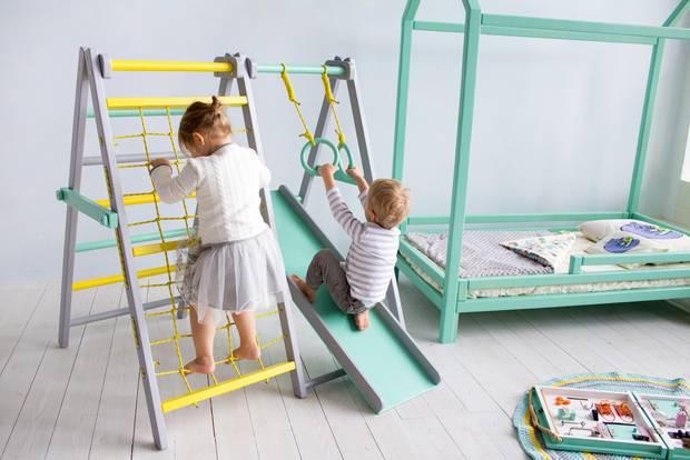 Klettergerüst Zimmer : Ideen für coole kinderzimmer brigitte