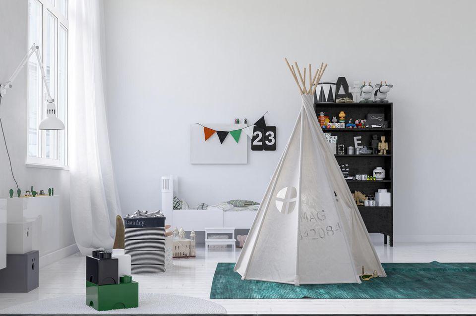 Zelt in Kinderzimmer