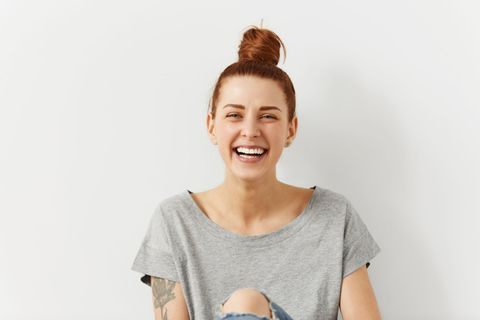 25 Ideen für eine bessere Welt: lachende Frau