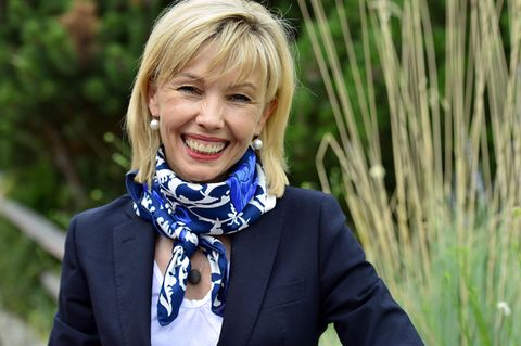 Doris Schröder-Köpf lächelt in die Kamera