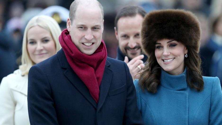 """Prinz William über Baby Nummer drei: """"Ich frage mich, wie ich das schaffen soll!"""""""