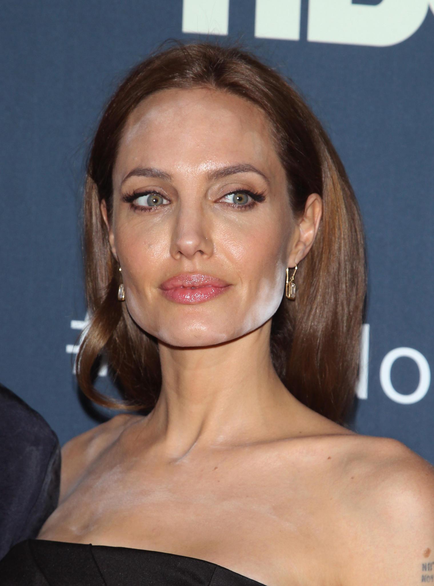 Make-up Fails der Stars: Angelina Jolie