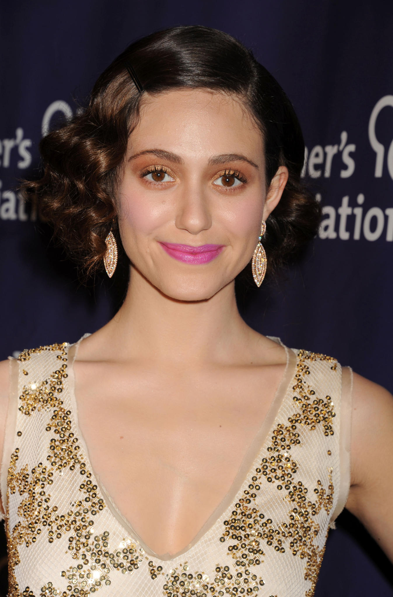 Make-up Fails der Stars: Emmy Rossum