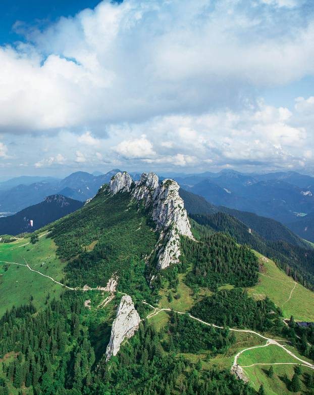 Wohnmobil-Tour durch Bayern: Kampenwand