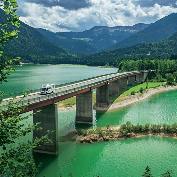 Mit Dem Wohnmobil Durch Bayern Brigittede