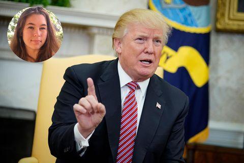 """""""Sie verdammtes Stück Scheiße"""": Schülerin attackiert Trump nach Amoklauf"""