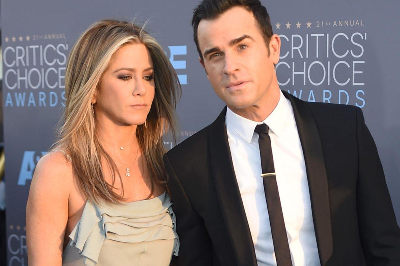 Offiziell! Jennifer Aniston & Justin Theroux haben sich getrennt ?