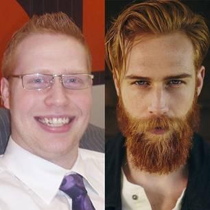 Gwilym Pugh: Vor und nach dem Makeover im Vergleich