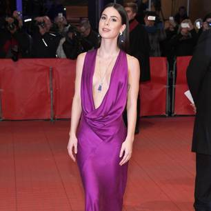 Berlinale 2018: Marie Nasemann in rotem Jumpsuit