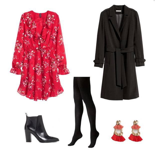 Wickelkleider richtig stylen