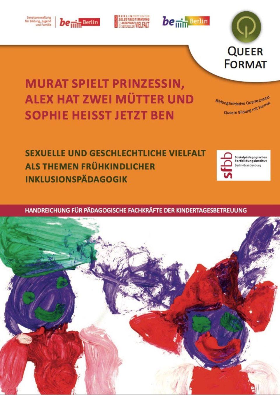 Berlin: Die Quere Aufklärungsbroschüre für Kita-Personal