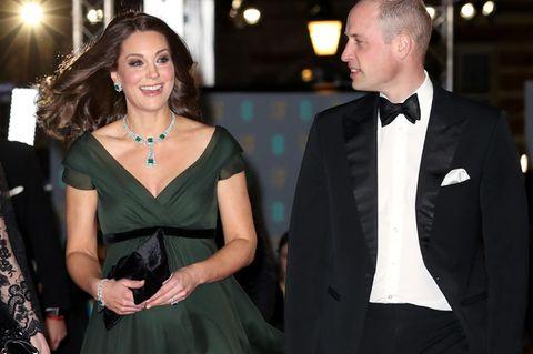 Darum trug Kate bei den BAFTAs kein Schwarz - und sorgte damit für heftige Kritik!