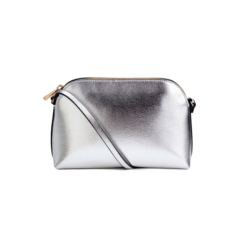 Silberne Tasche von H&M