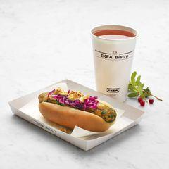 Neu: Ikea nimmt vegetarische Hotdogs ins Sortiment auf!