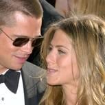 Brad Pitt, Jennifer Aniston auf dem roten Teppich