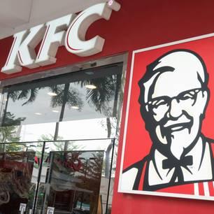 KFC ohne Hühnchen: Eine Kentucky Fried Chicken-Filiale