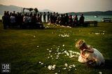 Hochzeitsfotos 2018: Kind auf Blumenwiese