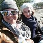 Samenspende: Selfie von zwei Frauen auf Reisen