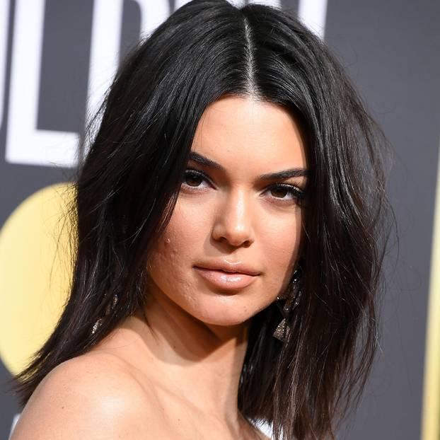 Instagram-Trend: Kendall Jenner mit Hautunreinheiten