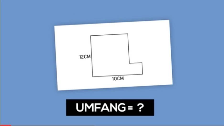 Mathe-Rätsel: Die Aufgabe vor blauem Hintergrund
