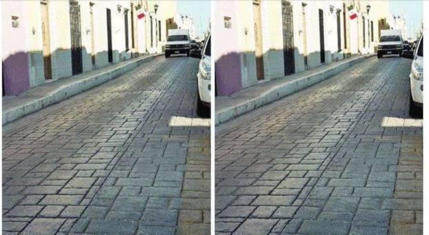 Unmöglich, auf diese optische Täuschung nicht reinzufallen