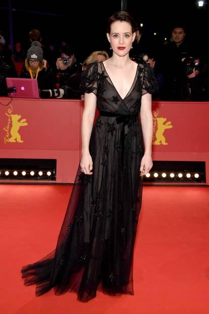 Berlinale 2018: Claire Foy auf dem Roten Teppich