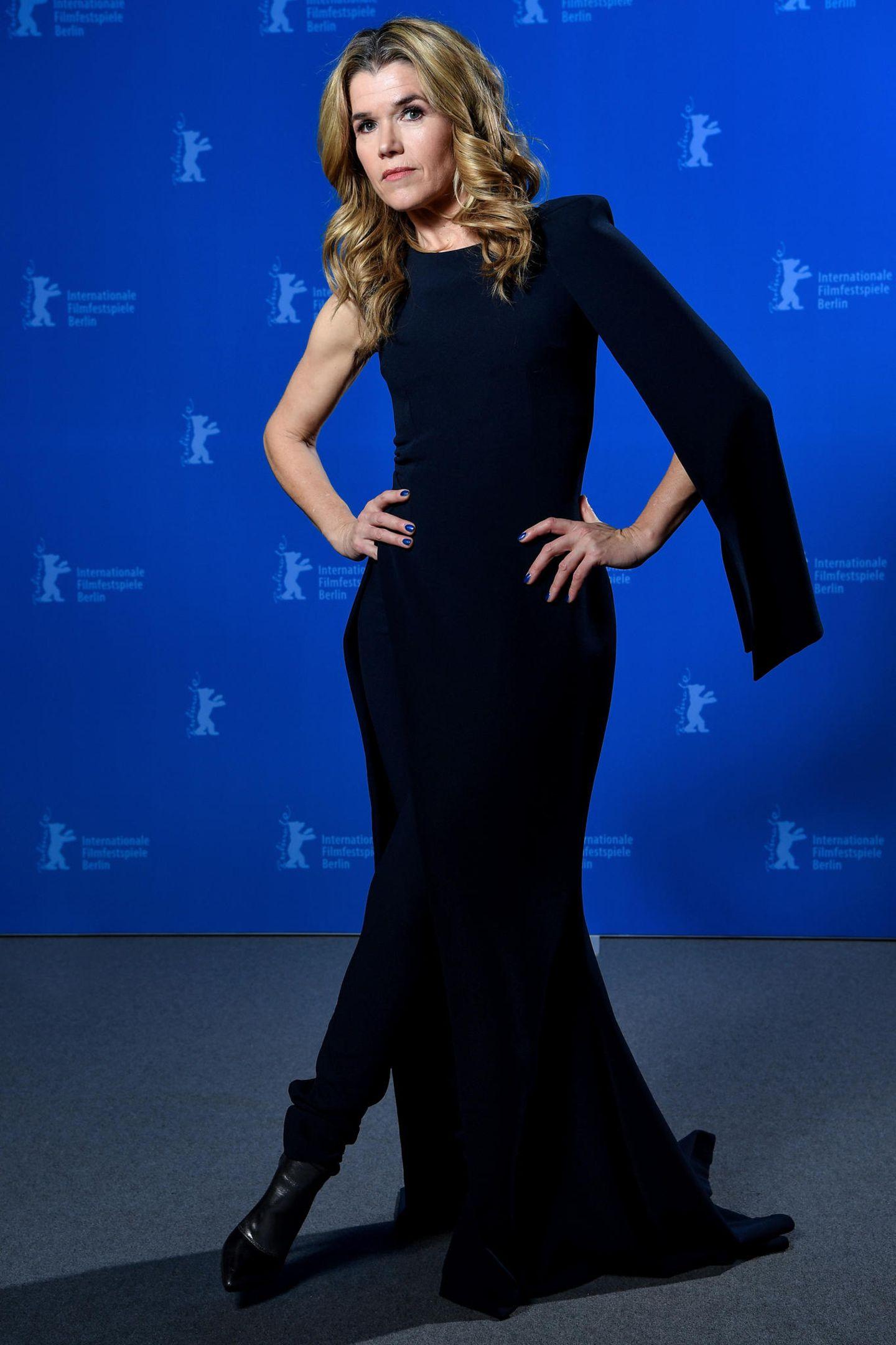 Berlinale 2018: Anke Engelke posiert für die Kamera