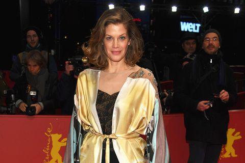 Berlinale 2018: Marie Bäumer auf dem Roten Teppich