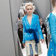 Mailänder Modewoche: Fellgürtel bei Francesca Liberatore