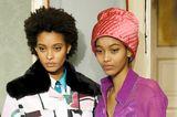 Mailänder Modewoche: Mütze bei Emilio Pucci