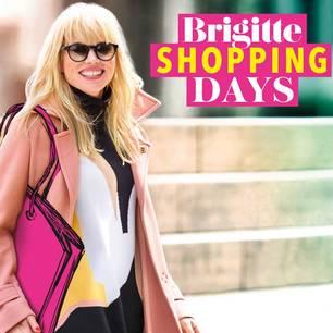 Brigitte-Shopping-Days: Frau mit Tasche
