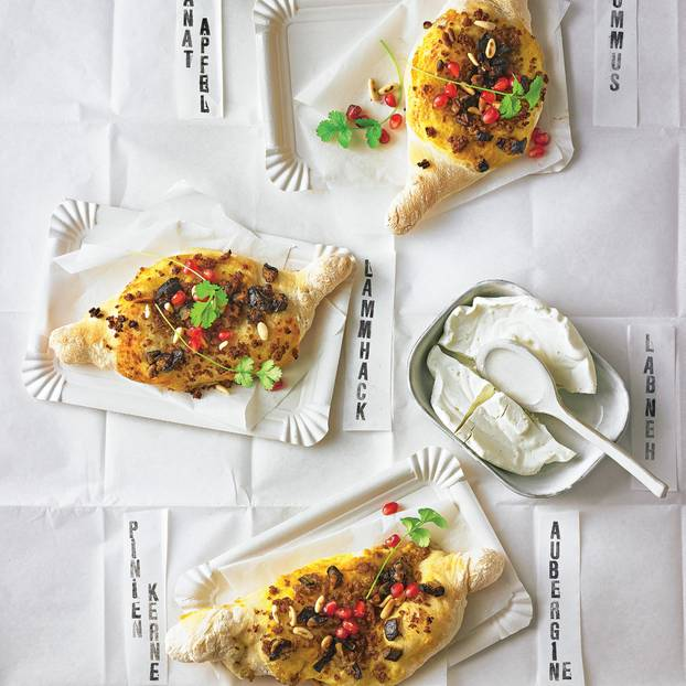 Arabische Mini-Pizzen