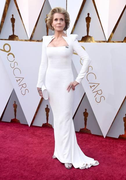 Jane Fonda in Balmain