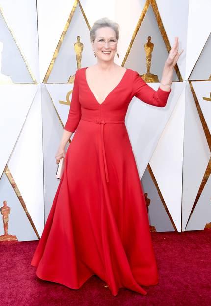 Meryl Streep in Christian Dior