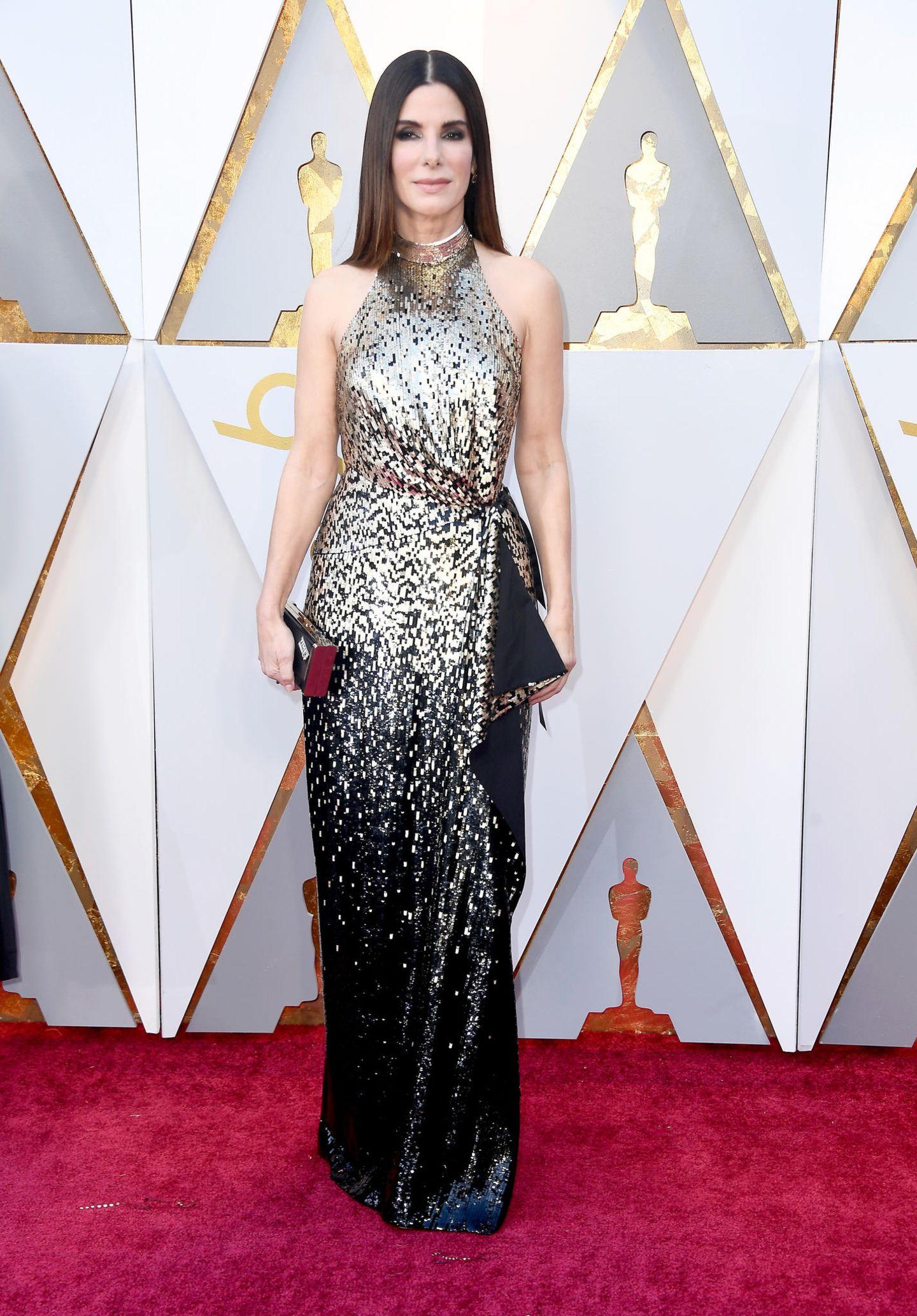 Sandra Bullock in Louis Vuitton