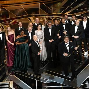 'The Shape of Water' gewinnt in der Kategorie 'Bester Film'.