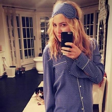 Promis mit Kurzhaarfrisuren: Kate Hudson mit langen Haaren