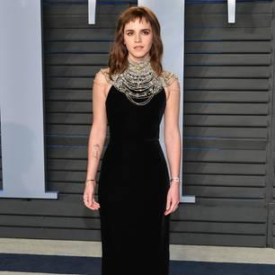 """Emma Watson zeigt ihr neues Tattoo """"Times Up"""" - und blamiert sich"""