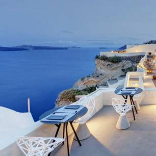 Honeymoon-Hotels: Santorin
