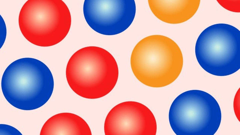 SchieГџt Die Bunten Bubbles Ab