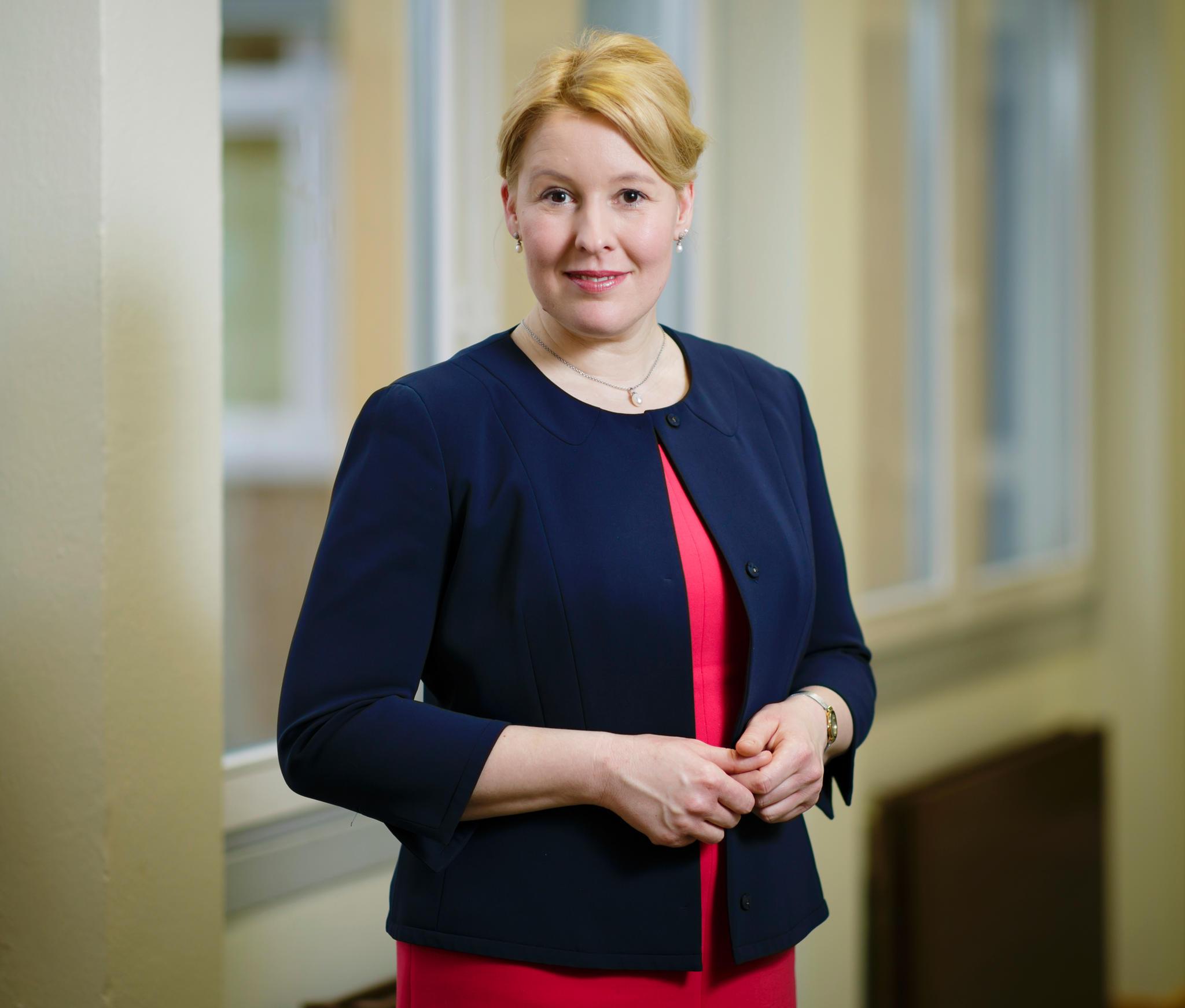 Die neue Familienministerin Franziska Giffey