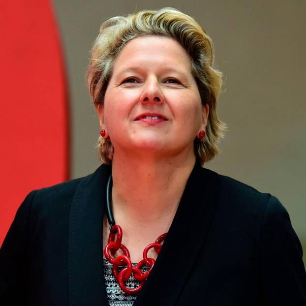 Die neue Umweltministerin Svenja Schulze