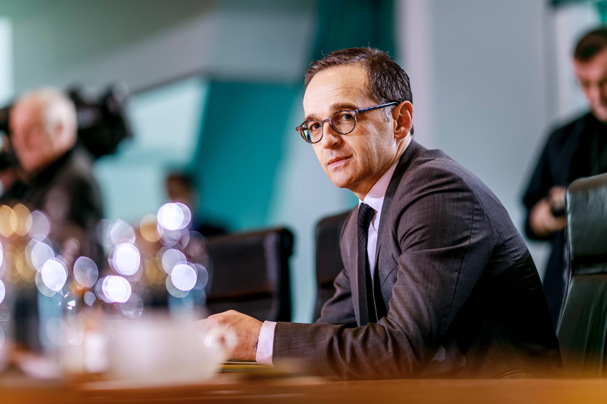 Der neue Außenminister Heiko Maas