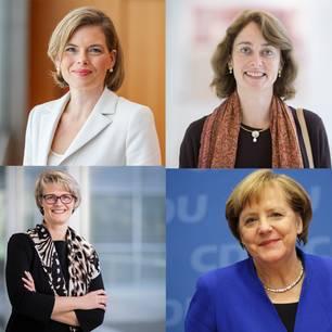 Kabinett Merkel: Diese Frauen sind jetzt Ministerinnen