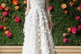 Brautkleid mit 3D-Muster von Lela Rosa
