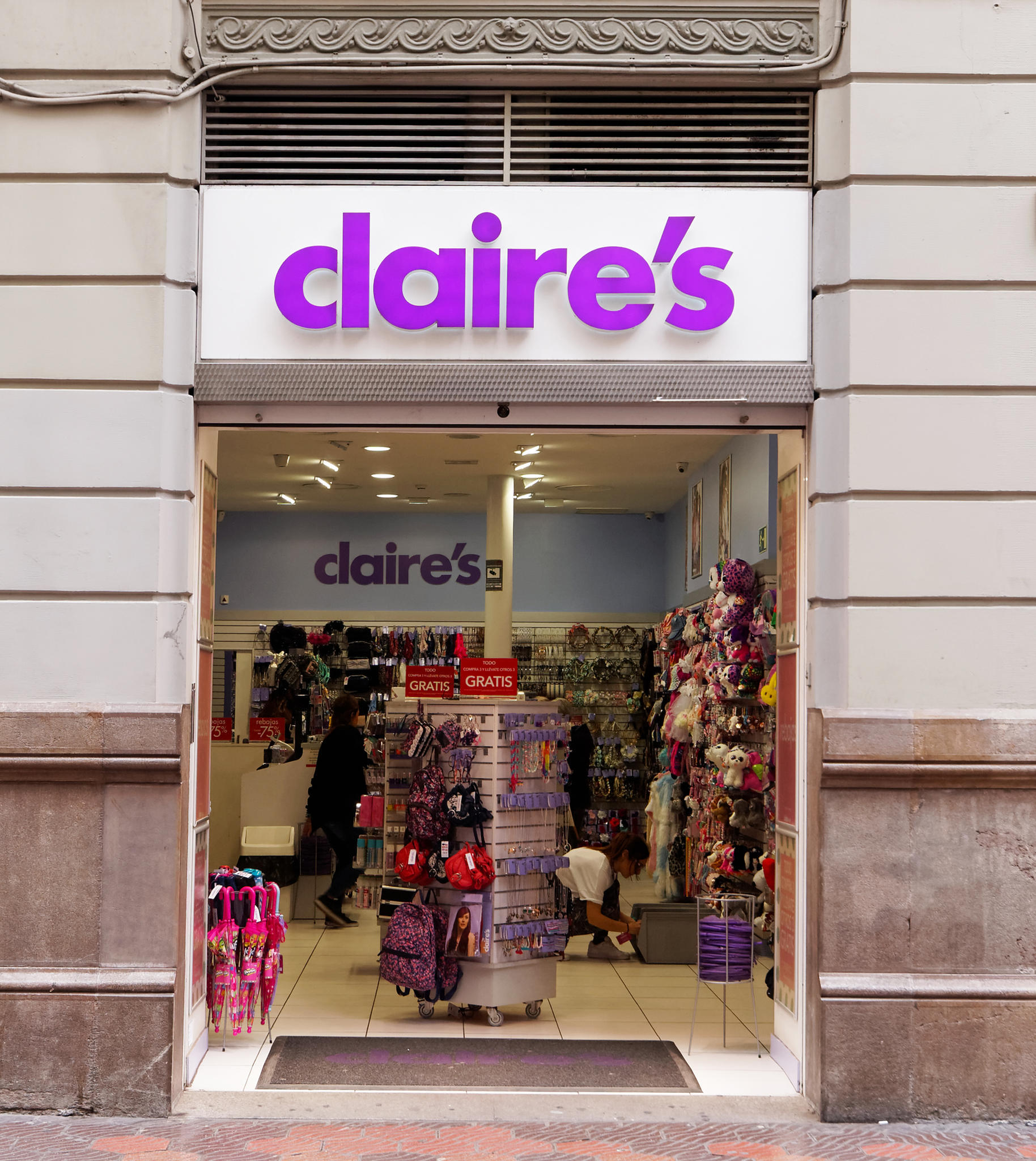 claire's stores stock symbol - HD1828×2048