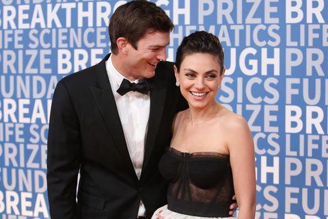 Seltener Schnappschuss! Ashton Kutcher & Mila Kunis mit ihren Kids unterwegs