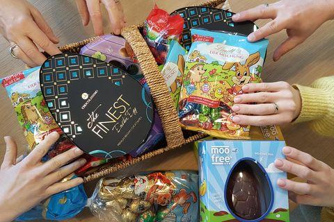 Schokoladeneier zu Ostern im Redaktionstest