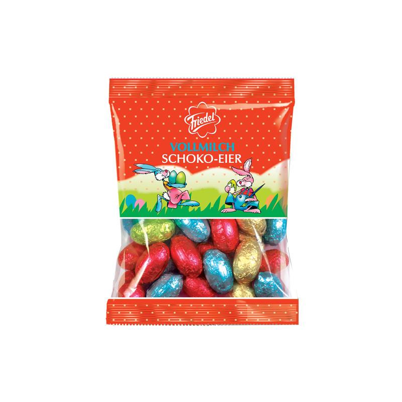 Schokoladeneier im Test: Vollmilch-Schoko-Eier von Friedel