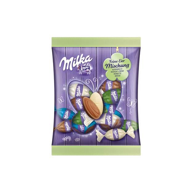 Schokoladeneier im Test: Feine Eier-Mischung von Milka